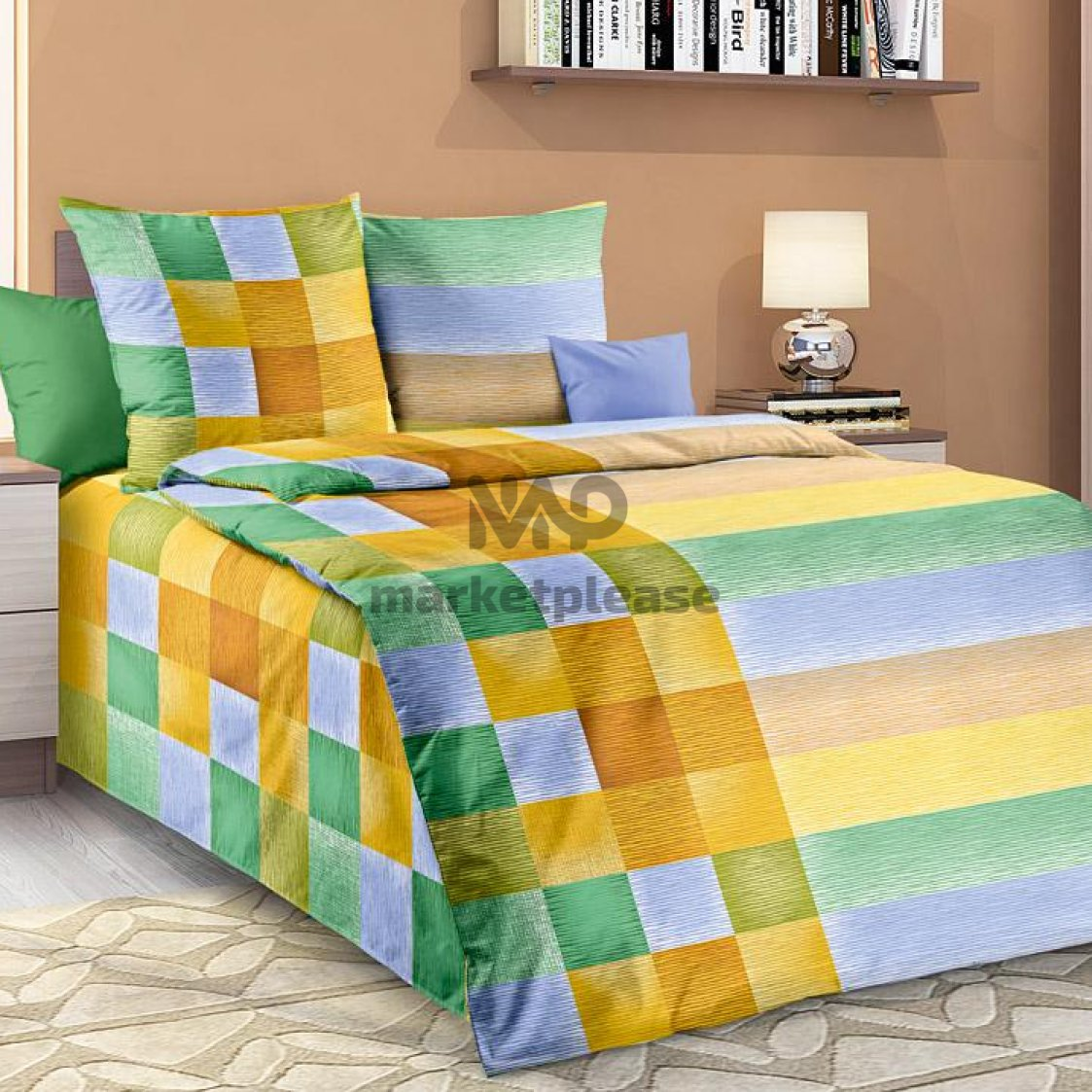 "Рулон ткани бязь ""Акапулько 1"" 150 см."