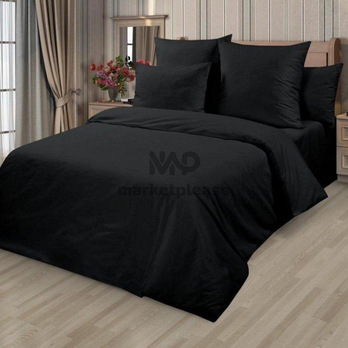 "Рулон ткани бязь ""Черная"" 150 см."