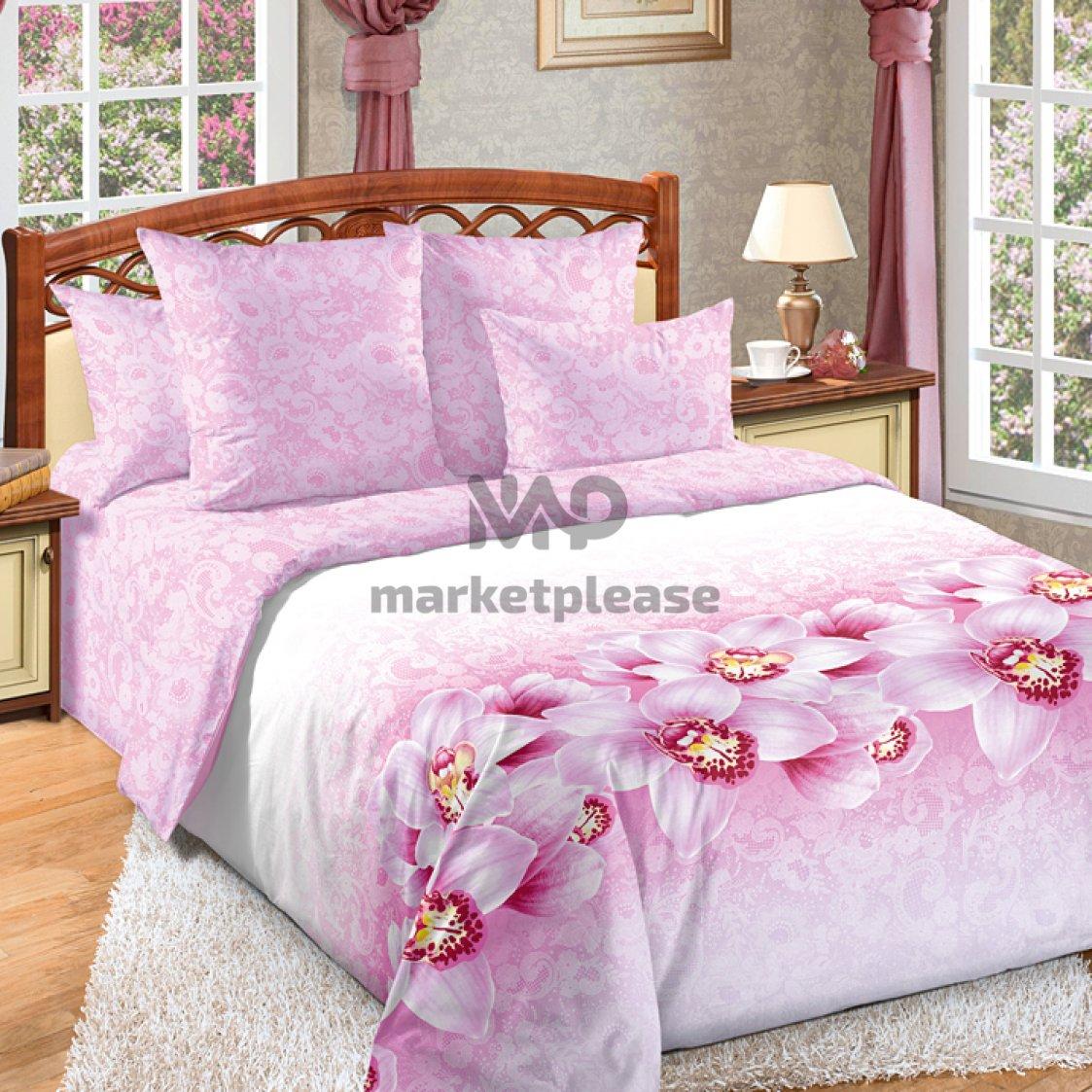 "Рулон ткани перкаль ""Аромат орхидеи"" 220 см"