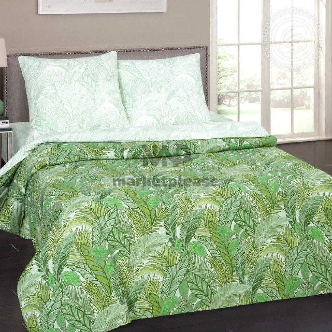 "Рулон ткани поплин ""Джунгли"" 220 см."