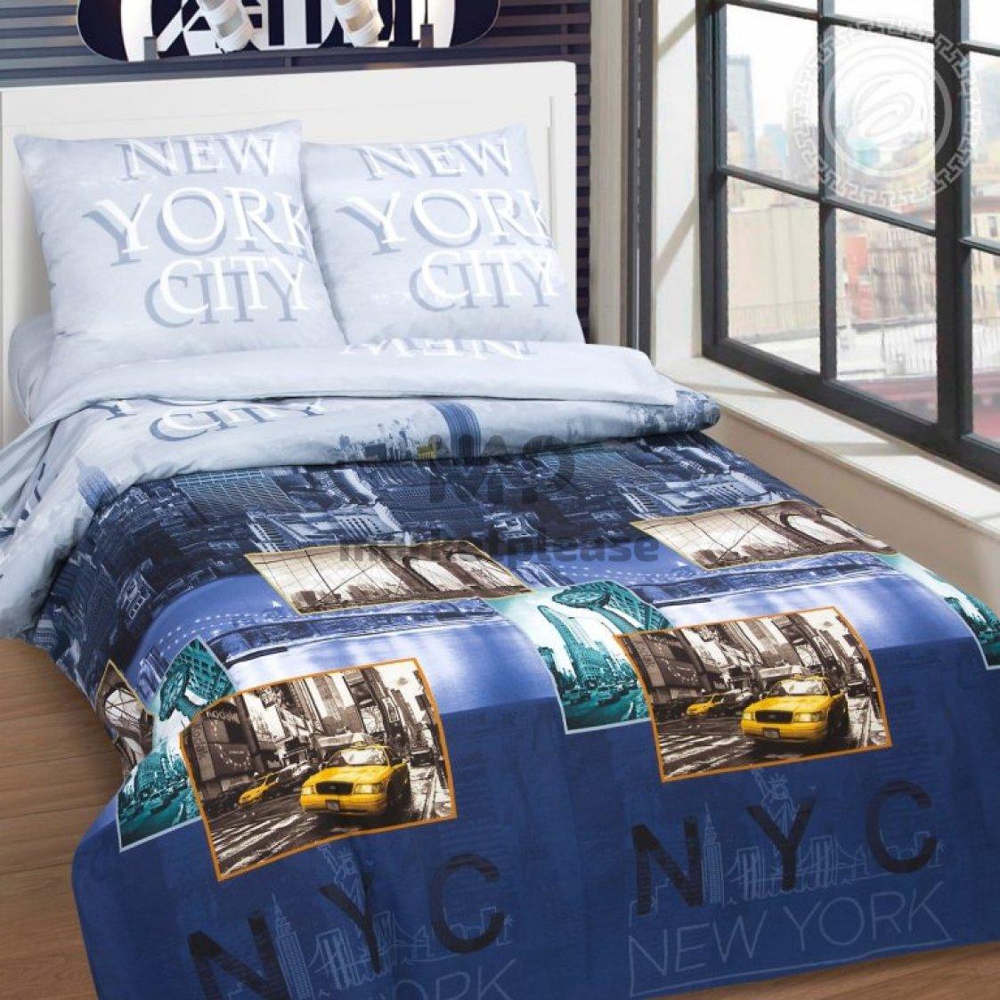 """Рулон ткани поплин """"Нью-йорк"""" 220 см."""