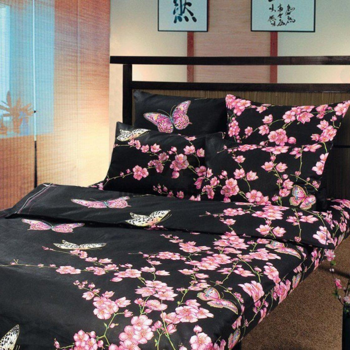 "Рулон ткани бязь ""Сакура 1"" 150 см."