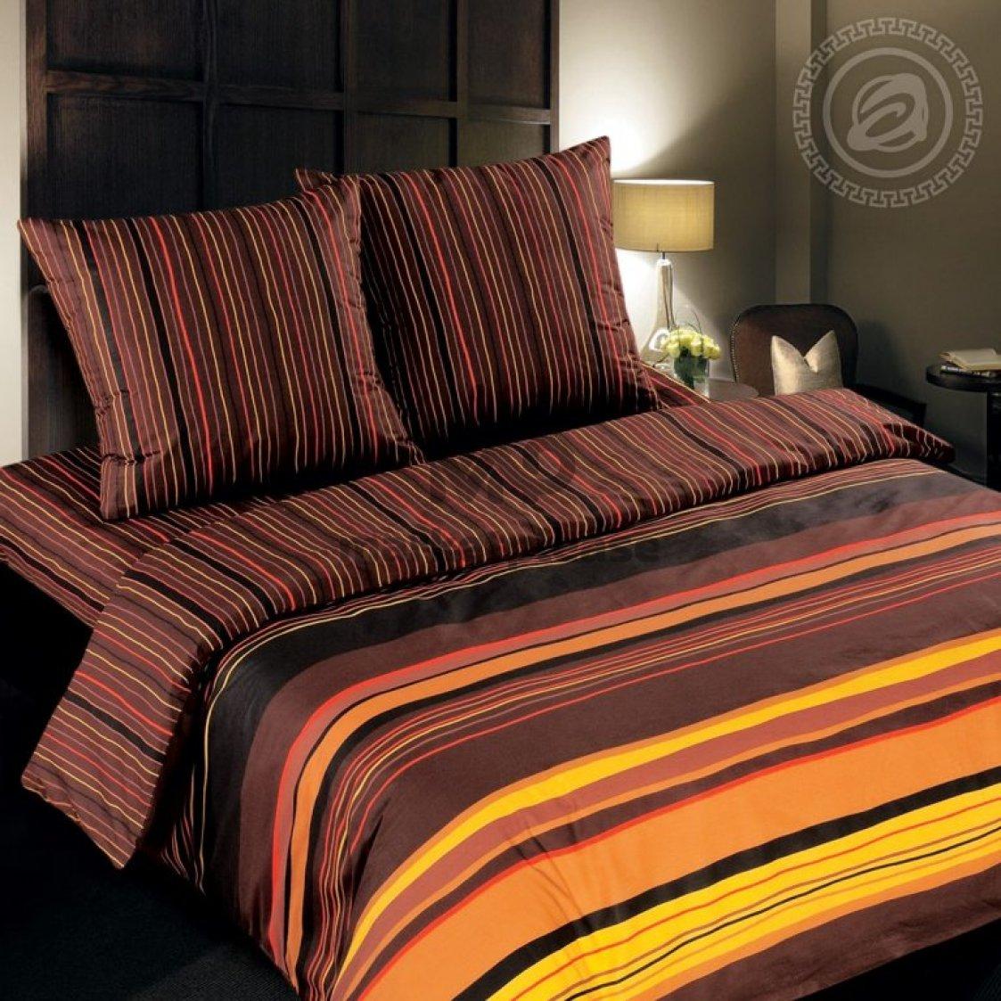 "Рулон ткани поплин ""Шоколад"" 220 см."